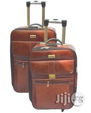 Trolley Travel Bags 2- leather Piece | Bags for sale in Lagos State