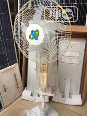 Rechargeable DC Solar Fan Available   Solar Energy for sale in Lagos State, Ojo