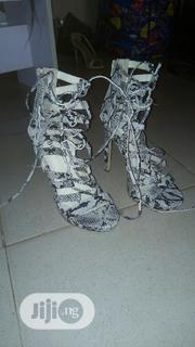 Neat Python Skin Gladiator For Sale UK Size 37 | Shoes for sale in Abuja (FCT) State, Maitama