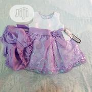 Jayne Copeland Baby Girl Lilac 2 Pcs Dress for Special Occassion | Children's Clothing for sale in Lagos State, Victoria Island