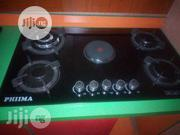 Phiima 90cm Cabinet 4burners Gas + 1electricr Burners 2years Warranty | Kitchen Appliances for sale in Lagos State, Ojo
