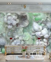 8D Green and Grey Jade Photo Mural Wall Paper | Home Accessories for sale in Lagos State, Ikeja