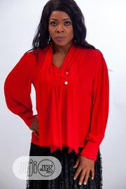 Ify Red Stylish Red Top | Clothing for sale in Lagos State, Ikoyi
