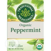 Traditional Medicinals Organic Peppermint Tea - 16 Tea Bags | Vitamins & Supplements for sale in Lagos State, Lekki Phase 1