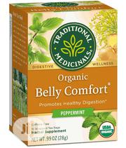 Traditional Medicinals Organic Belly Comfort Tea - 16 Bags | Vitamins & Supplements for sale in Lagos State, Lekki Phase 1