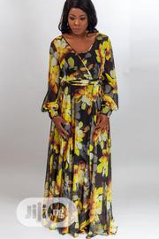 Summer Floral Long Dress | Clothing for sale in Lagos State, Lekki Phase 1