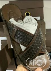 Original Italian Leather Sandals Slippers   Shoes for sale in Lagos State, Surulere