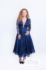 Emelda Navy Blue Ball Lace Dress | Clothing for sale in Lagos State, Lagos Island