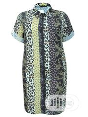 Tiger Skin Plus Size Shirt Dress | Clothing for sale in Lagos State