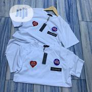 Authentic Versace T-Shirts(White Black) | Clothing for sale in Lagos State, Alimosho