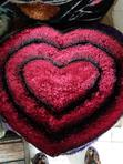 Heart Shaped Centre Rug | Home Accessories for sale in Lagos State, Nigeria