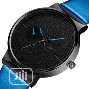 Shaarms Business Wrist Watch Blue-black | Watches for sale in Lagos State, Ikeja