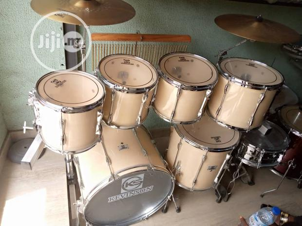 Professional Rack Drum (Kevinson) With Power Lux