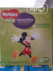 Huggies Slip on (148 Counts) Size 4 | Baby & Child Care for sale in Lagos State, Ifako-Ijaiye