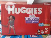 Huggies Little Movers (120 Counts ) Size 6 | Baby & Child Care for sale in Lagos State, Ifako-Ijaiye