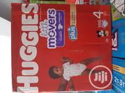 Huggies Little Movers (186 Counts) Siz 4 | Baby & Child Care for sale in Lagos State, Ifako-Ijaiye