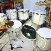 Powersonic 7set Drum (White) | Musical Instruments & Gear for sale in Lagos State, Ojo
