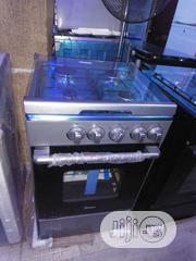 Midea 4gas Burners Cooker, Oven and Grill With 2yrs Wrnty.   Kitchen Appliances for sale in Lagos State, Ojo