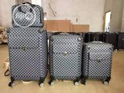 Original Quality Trolley Travelling Leather Bags Set Of 4 | Bags for sale in Lagos State, Lagos Island