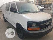 Chevrolet Express 2005 Cargo Van G2500 Extended White | Buses & Microbuses for sale in Lagos State, Amuwo-Odofin