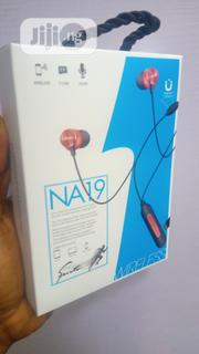 NA19 Wireless Bluetooth Neckband | Headphones for sale in Lagos State, Ikeja