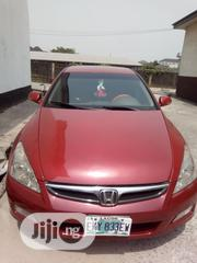 Honda Accord 2006 2.0 Comfort Automatic Red | Cars for sale in Rivers State, Port-Harcourt