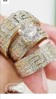 1/5 3pcs/Set Vintage Gold Filled White Sapphire Ring | Jewelry for sale in Rivers State, Port-Harcourt