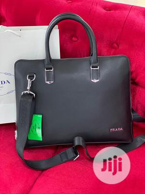 Quality at Its Best Prada Designer Leather Laptop Bags