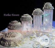Set Of 4 Acrylic Crystal Chandelier Cake Stand Asian Style With BY6 | Home Accessories for sale in Lagos State, Ikeja