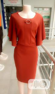 Orange Office Dress for Ladies | Clothing for sale in Lagos State, Ajah