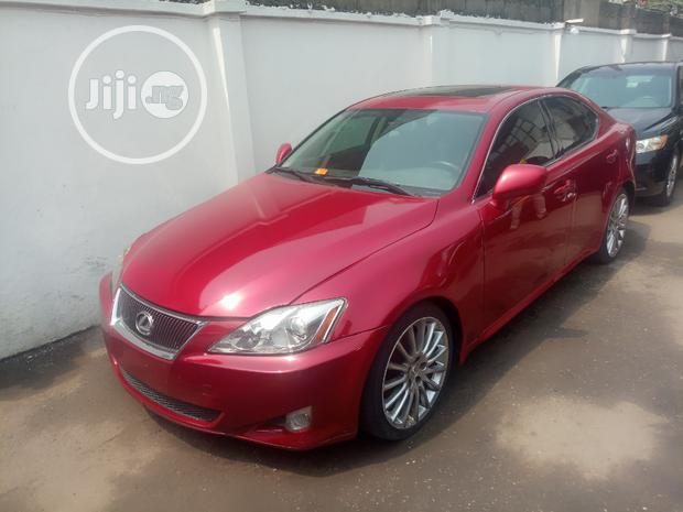Archive: Lexus IS 2007 250 Red