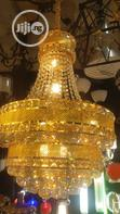 Crystal Chandelier Led and Bulb With Remote Control   Home Accessories for sale in Ojo, Lagos State, Nigeria