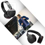 Deep Bass Headphones Bluetooth & NFC MDR-XB950BT | Headphones for sale in Lagos State, Ikeja