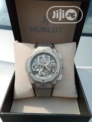 Gray Hublot Leather Watch   Watches for sale in Lagos State, Agboyi/Ketu