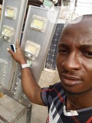 Original 100w 2COB And 150w COB Solar Street Light, 2000pcs Available   Solar Energy for sale in Lagos State, Magodo