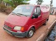Tokunbo Ford Transit 1998 Red Bus Dissel Engine | Buses & Microbuses for sale in Lagos State, Ikeja
