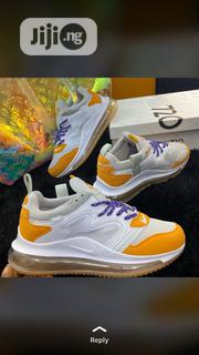 NIKE 720 (White,Mustard and Purple Laces ) | Shoes for sale in Lagos State, Lagos Island