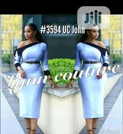 Quality Female Skyblue Long Sleeve Gown | Clothing for sale in Lagos State, Ikeja