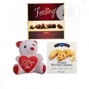 Valentines Gift Thinking Of You Chocolate, Teddy Bear & Cookies | Meals & Drinks for sale in Lagos State, Lagos Island