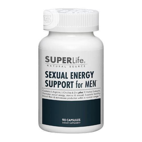 Archive: Superlife Sexual Energy Support for Men (90 Capsules)