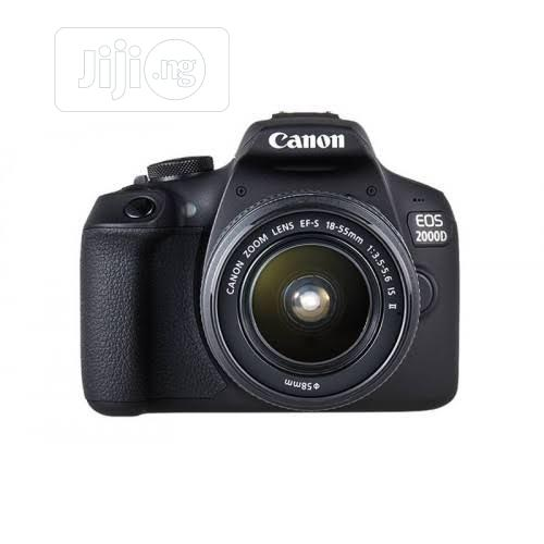 Canon Eos 2000d With 18-55mm Lens (Brand New)