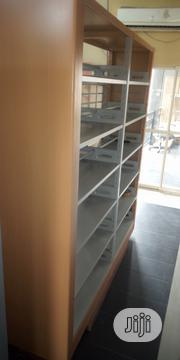 Library Shelves Metal Double | Furniture for sale in Lagos State, Ikeja