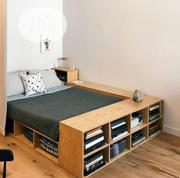 Bedframe With Bookshelf Bottom Storage | Furniture for sale in Lagos State