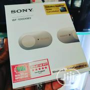 Sony Wireless Noise Cancellation Earphone WF-1000XM3 | Headphones for sale in Lagos State, Ikeja
