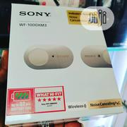 WF-1000XM3 Sony Noise Cancellation Wireless Earbuds | Headphones for sale in Lagos State, Ikeja