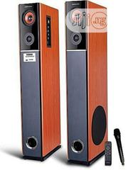 Homeflower Powerful Home Flower Sound System Orange and Black   Audio & Music Equipment for sale in Lagos State, Ojo