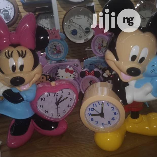 Mickey And Minnie Clock For Kids