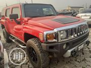Hummer H3 2008 SUV Red | Cars for sale in Lagos State, Ikeja