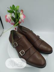 Double Monk Brown Leather Shoe   Shoes for sale in Lagos State, Agboyi/Ketu
