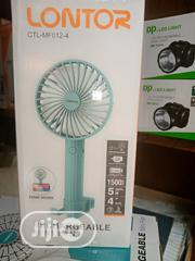 Lontor Recheageble Handfan With Phone Holder   Home Appliances for sale in Lagos State